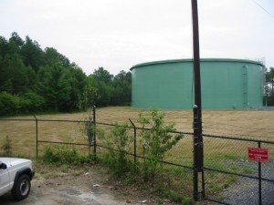 lost mountain water storage tank
